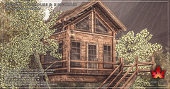 Trompe Loeil - Natalia Treehouse and Ringchairs for Uber May