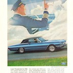 Thu, 2016-04-21 14:58 - 1966 Ford Thunderbird Advertisement National Geographic April 1966