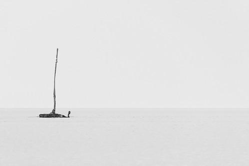 minimalist seascape