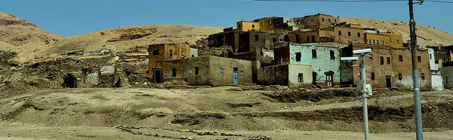 Una aldea en Egipto