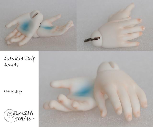Pegasus hands