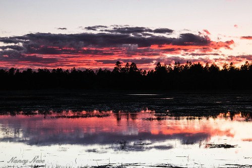 sunset arizona reflection northernarizona