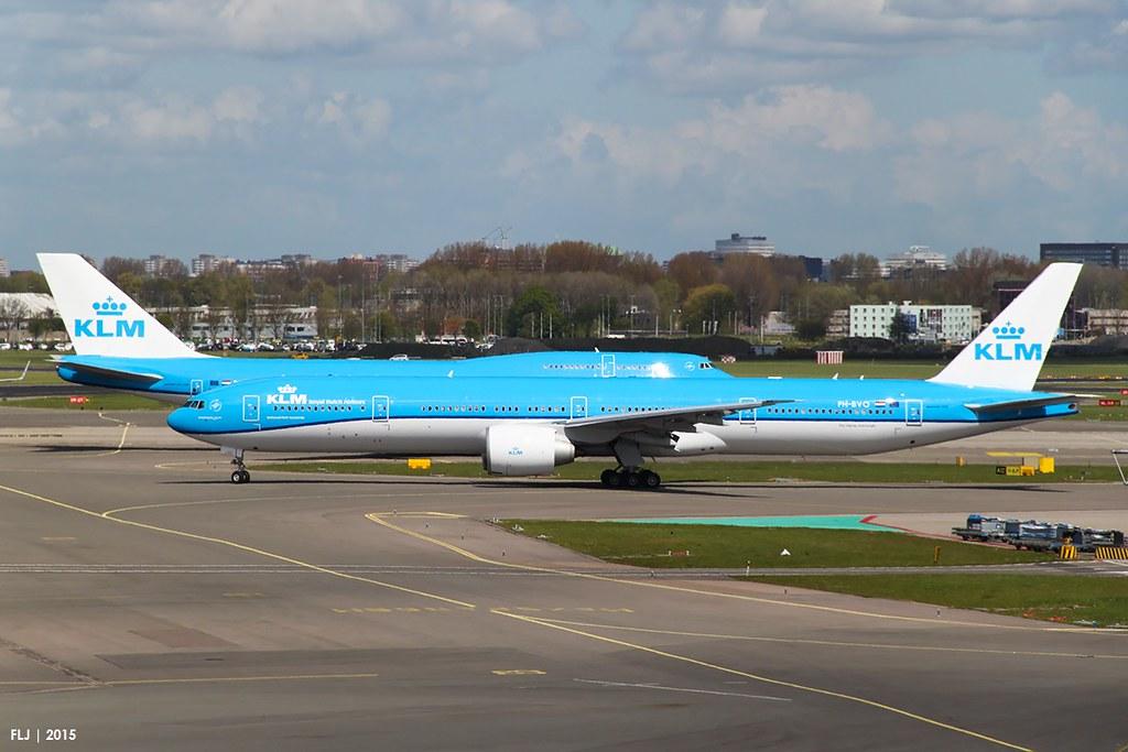 PH-BVO - B77W - KLM