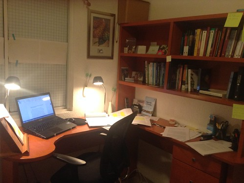 my home office. Home Office In Aguascalientes At Night My D