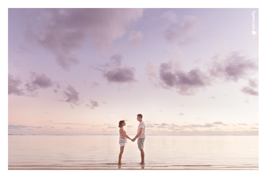 Your Hand in Mine. couple photo shoot Rarotonga