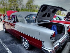 automobile, automotive exterior, vehicle, custom car, automotive design, full-size car, antique car, chevrolet bel air, sedan, vintage car, land vehicle, luxury vehicle, motor vehicle,