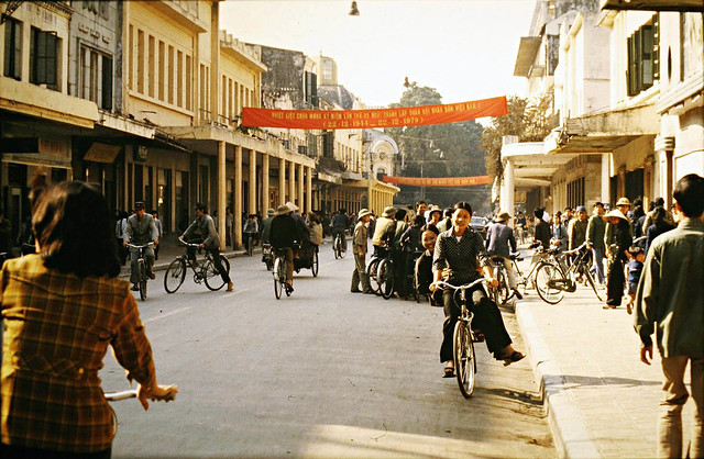 HANOI 1979 - Phố Tràng Tiền