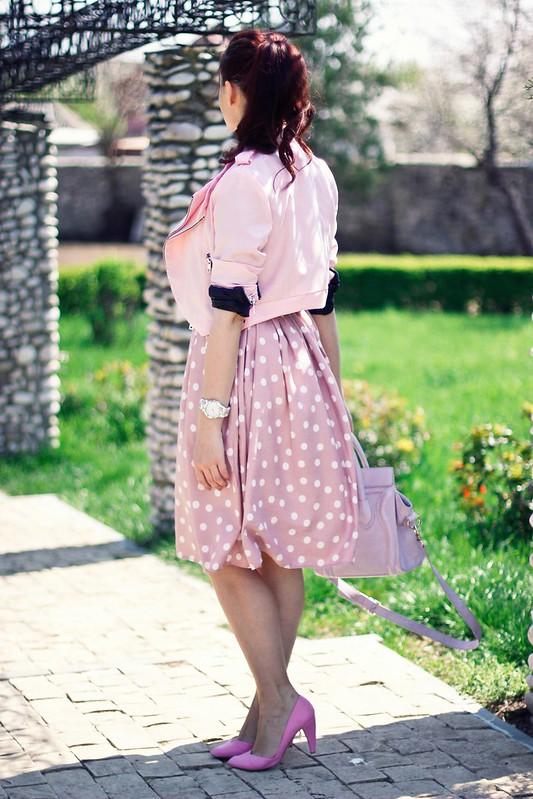 polka dots skirt6