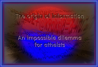 The origin of information -an impossible dilemma for atheists