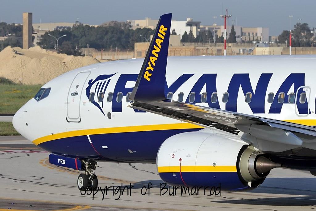 EI-FEG - B738 - Ryanair