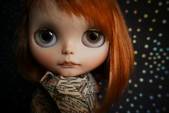 David Bowie Eyes Sammydoe Custom Blythe Tsanfw Lightning S