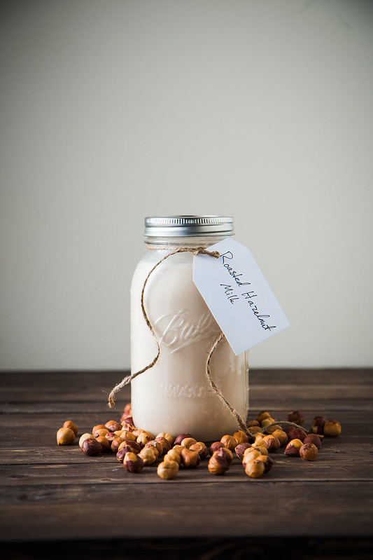 Roasted Hazelnut Milk | Will Cook For Friends