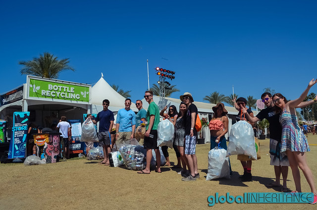 Coachella 2015 Recycling Store and 10x1 Bottle Exchange
