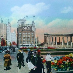 Chicago, 1920....wonderful scenes found in Millenium park.
