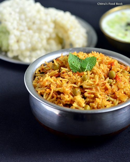Thakkali biryani recipe