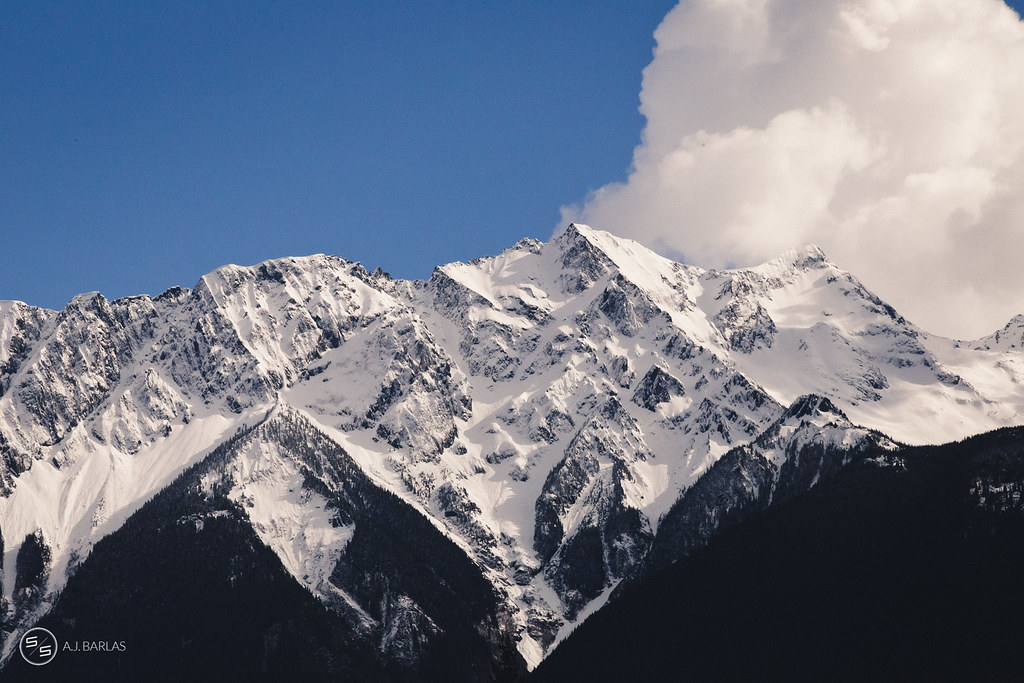 Mount Currie, Pemberton putting on a show