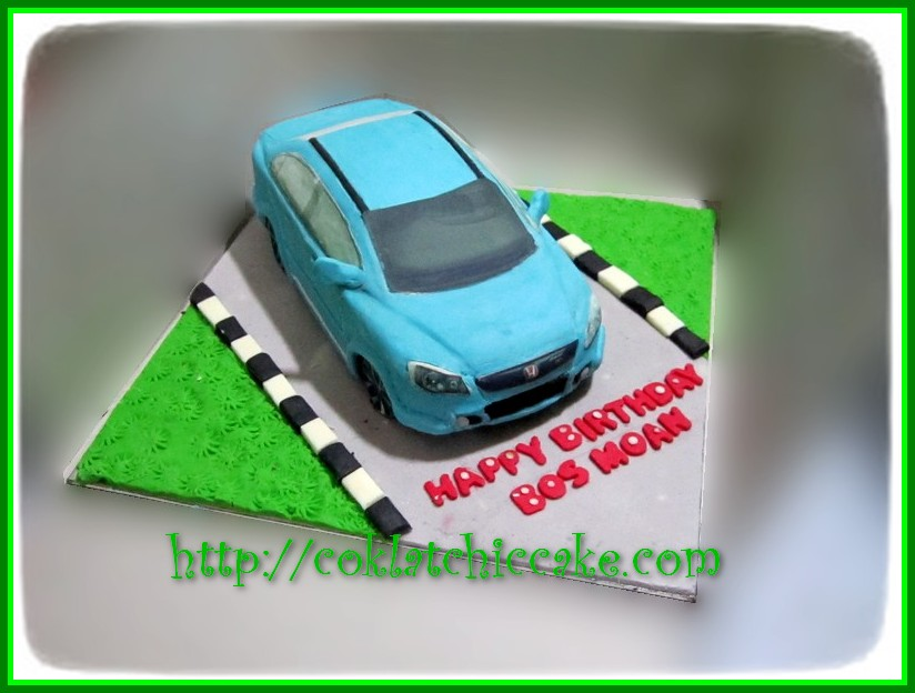 Cake All New Civic