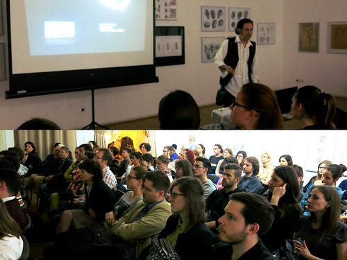 Conferencia del arquitecto mexicano, Iván Juárez, Hungría