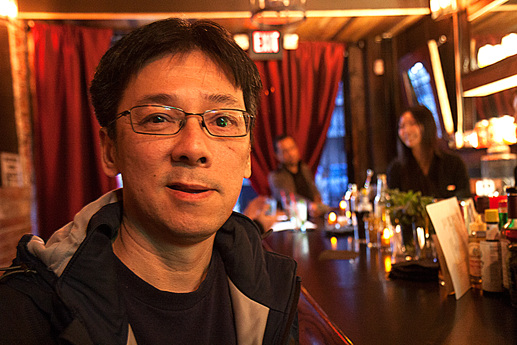 Lieu, co-owner of a San Francisco Bar