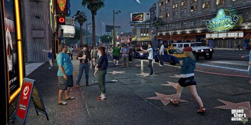 GTAV Mods - Pedestrians Riot