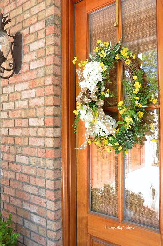 Spring Wreath-Housepitality Designs