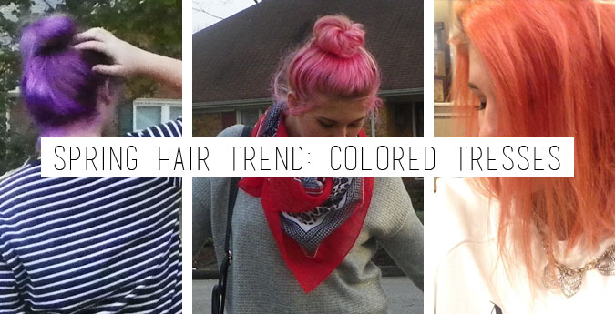 Colored Hair: The Spring Trend