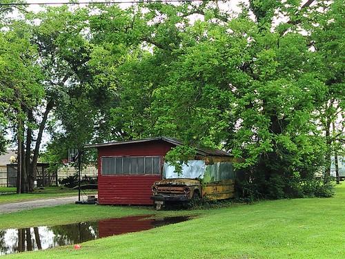 Skoolie shack