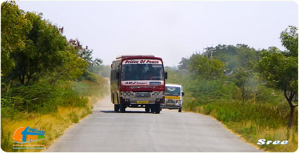 ADJ TN-72AD-3719 Papanasam - Uvari via Ambasamudram, Cheranmahadevi, Kalakkad, Nanguneri, Thisayanvilai.