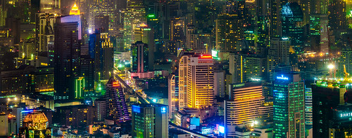 city night thailand bangkok