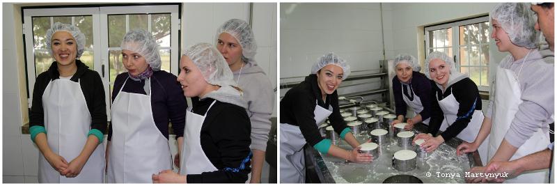 22 - Невероятные приключения москвичек в Каштелу Бранку - quinta - мастер-класс по приготовлению сыра (традиционного португальского)