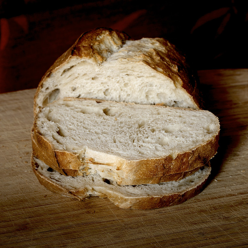"""Французская/городская булка на закваске/""""Toulon's bread"""" like with the ferment."""