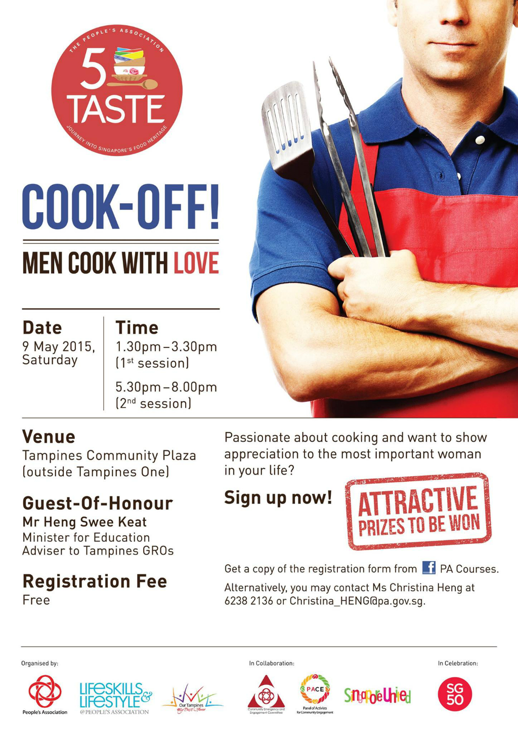 Cook-off! – Men Cook with Love