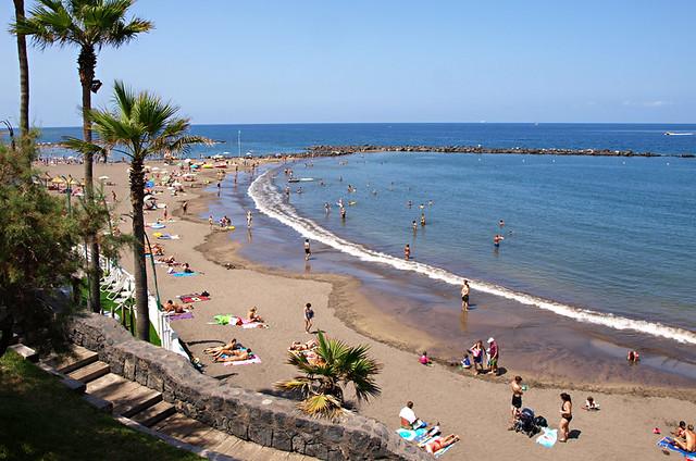 Playa Troya, Costa Adeje, Tenerife