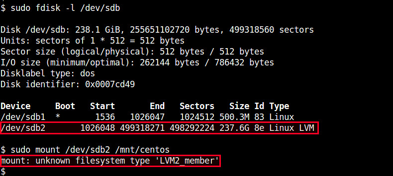 How to mount an LVM partition on Linux - Ask Xmodulo