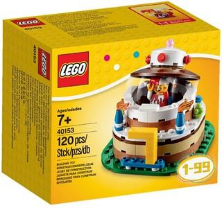 樂高迷最棒的生日禮物!限定版40153 『生日蛋糕』