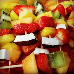 Brochettes de fruits - Photo of Zilling