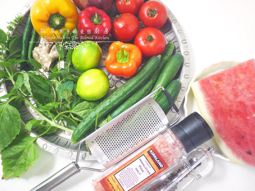 孤身廚房-西班牙西瓜冷湯2