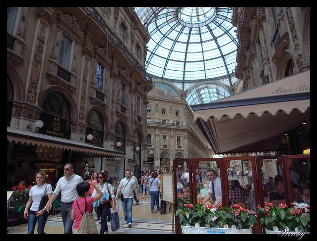 Por qué viajar a Milán - Galería Vittorio Emanuele II