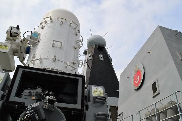 HMS Duncan (45)  @ West India Dock 21-05-16