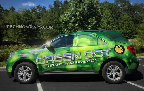Chevy Equinox vehicle wrap by TechnoSigns in Orlando