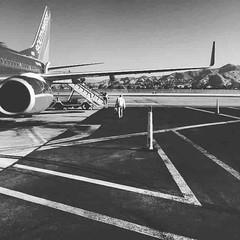 Departure lines.