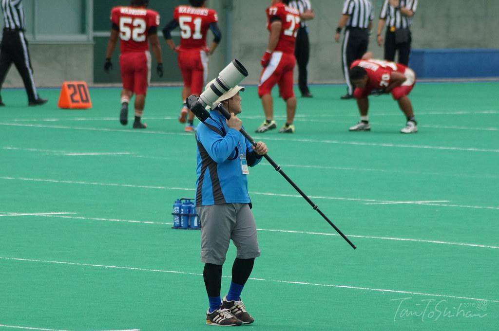 島根大ー愛媛大 (中四国学生アメリカンフットボールリーグ戦 2016)