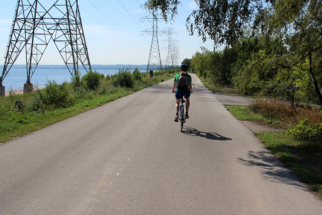 Biketour Lake Ontario Waterfront Trail