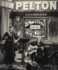 Marilyn Gentle & Dave Burrluck at the Pelton Arms, Greenwich