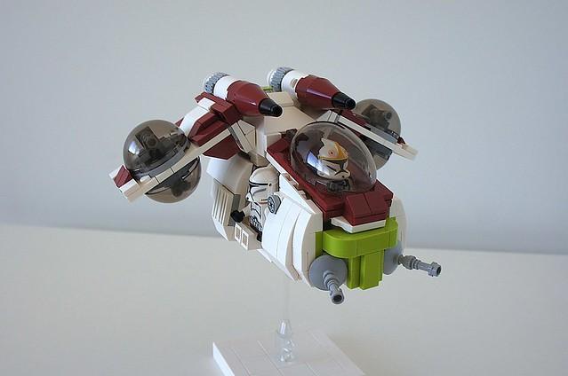 LAAT Republic Gunship, by Yxxn, on Flickr