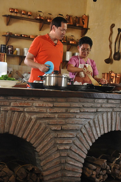 Chef Sandy Daza in Vigan
