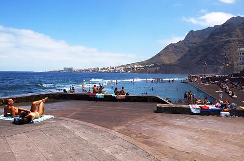 looking north from Bajamar, Tenerife