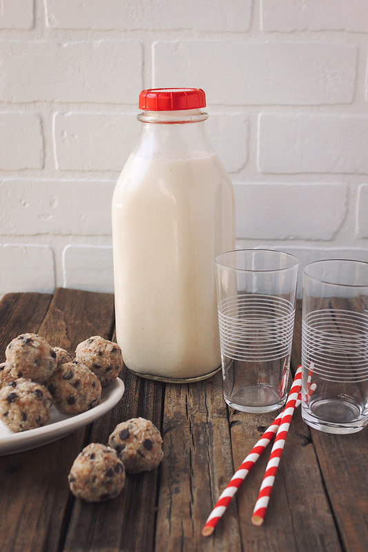 Edible Earth Day: Cookies and Milk, the Healthy Way