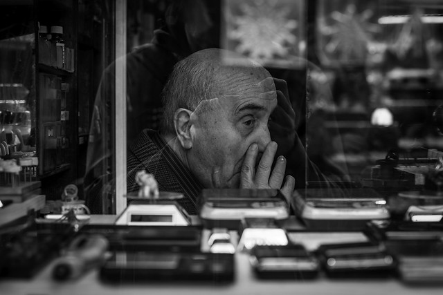 Istanbul, Turkey. 2015. Itchy nose.