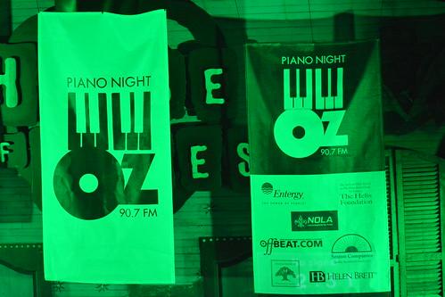 At WWOZ Piano Night 2015.  Photo by Kichea S Burt.